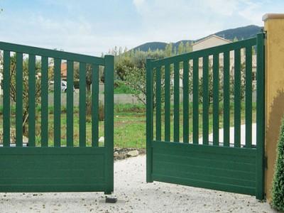 Les portails PVC
